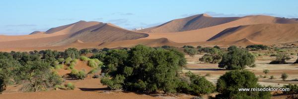 Soussusvlei Dünen in Namibia