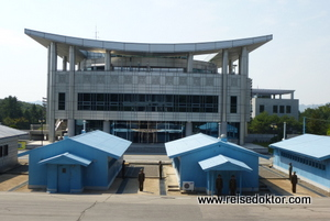 Demarkationslinie - Grenze Nordkorea - Südkorea