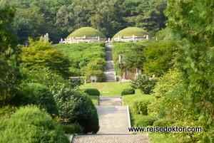 Königsgräber in Nordkorea