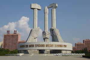 Monument zur Gründung der Partei