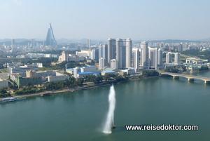 Skyline von Pjöngjang