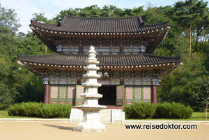 Tempel in Nordkorea