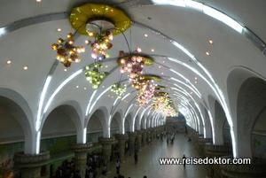 U-Bahn von Pjöngjang