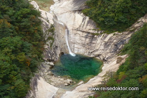 Wasserfall Kumgangsan, Nordkorea