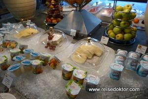 Frühstücksbuffet im Dinarobin Hotel