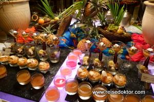 Nachspeisenbuffet im Dinarobin