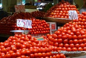 Port Louis Gemüsemarkt