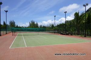 Tennisplatz, Dinarobin Hotel