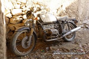 Altes Motorrad, Oman