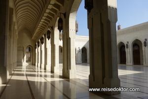 Die große Sultan Qaboos Moschee