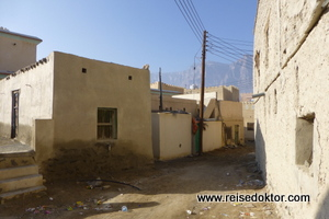 Dorf im Wadi Sahtan