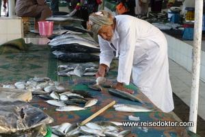 Fischhändler Oman