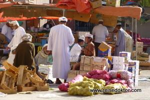 Gemüsemarkt im Oman