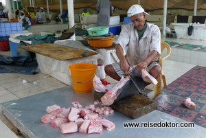 Haifisch, Fischmarkt