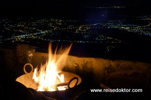Lagerfeuer, The View, Oman