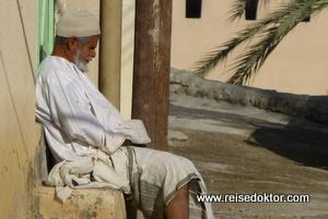 Mann im Oman