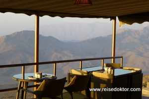 Restaurant, The View Hotel, Al-Hamra