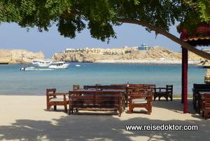 Strandbar, Oman Dive Center