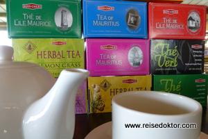 Teeverkostung Mauritius