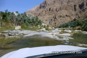 Wadi Tiwi, Omanreise