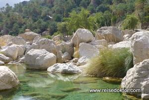 Wadis im Oman