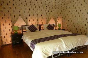 Zelt im View Hotel, Oman
