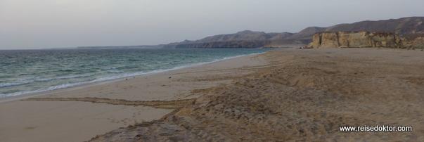 Ras Al Jinz, Strand