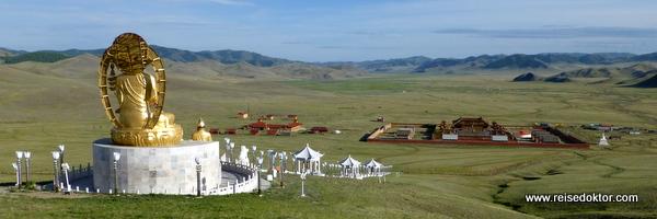 Amarbayasgalant in der Mongolei