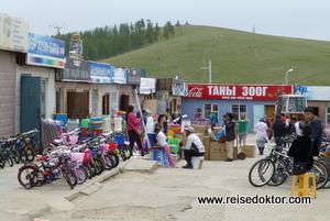 Markt in Bulgan