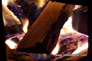 Feuer in der Jurte, Mongolei