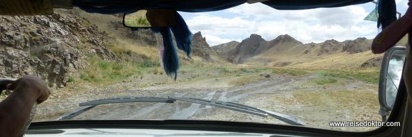 Fahrt zur Geierschlucht