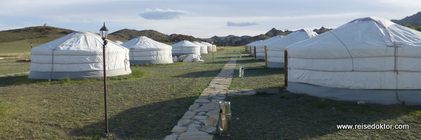 Gercamp in der Mongolei
