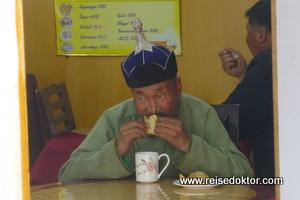 Imbiss in der Mongolei