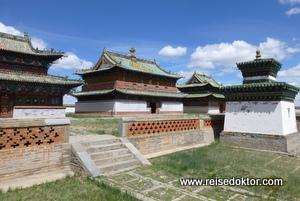 Klosteranlage in der Mongolei