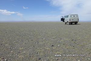 Landschaft der Mongolei