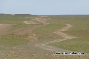 Mongolei Strassen