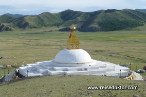 Stupa Kloster in der Mongolei