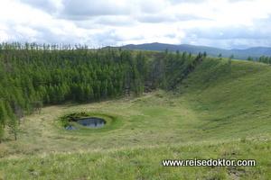 Uran Togoo Vulkan, Mongolei