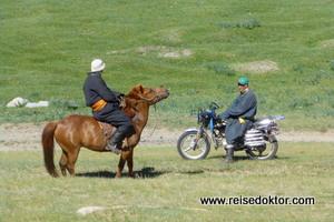 Verkehrsmittel in der Mongolei