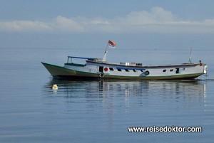 Mit der Fähre zu den Togian Islands, Sulawesi