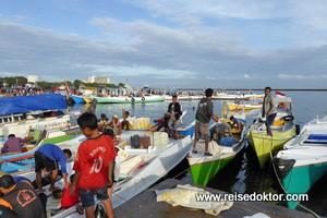Auf dem Fischmarkt in Makassar