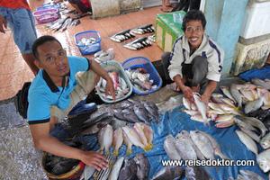 Fischmarkt Sulawesi