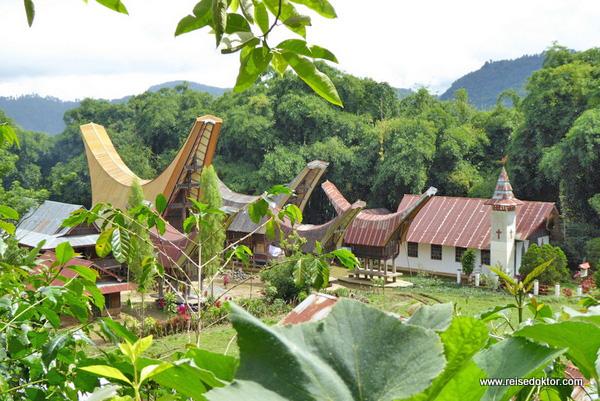 Häuser Toraja Rantepao
