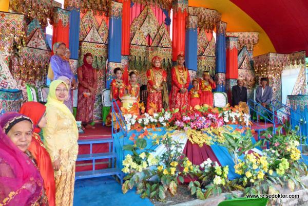 Hochzeit auf Sulawesi