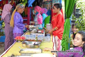 Hochzeit Essen Sulawesi