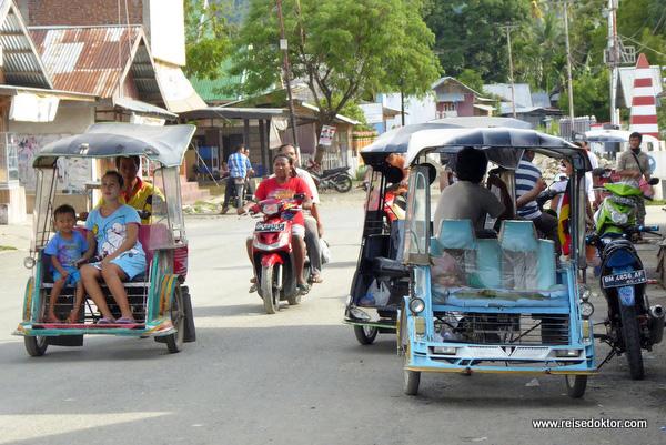 Ort auf Sulawesi