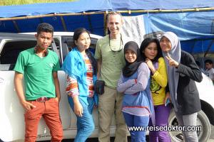 Schüler in Sulawesi