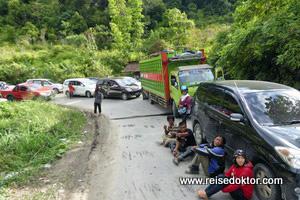Stau auf Sulawesi