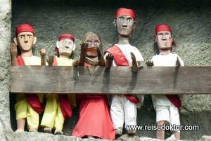 Ankunft in der Region Tana Toraja