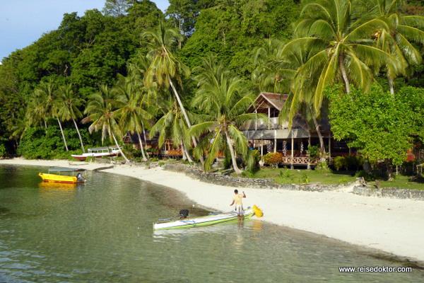 Togian Island Strand